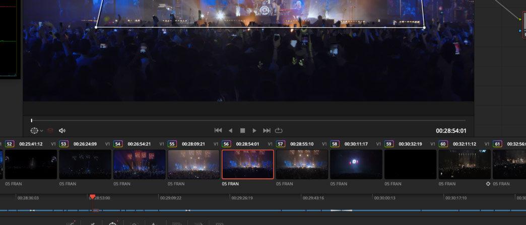 Corrección de color en postproducción de vídeo