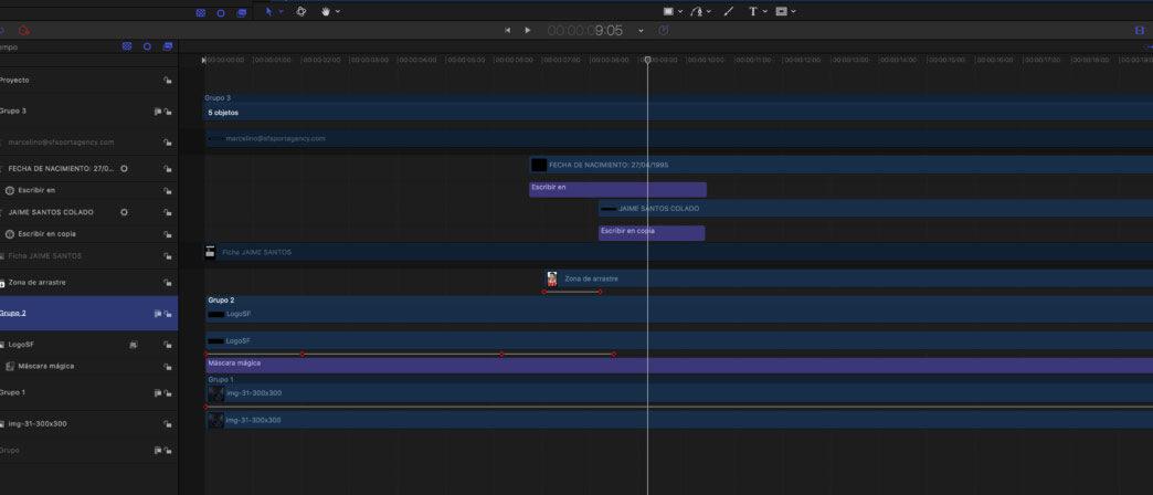 Postproduccion de vídeo